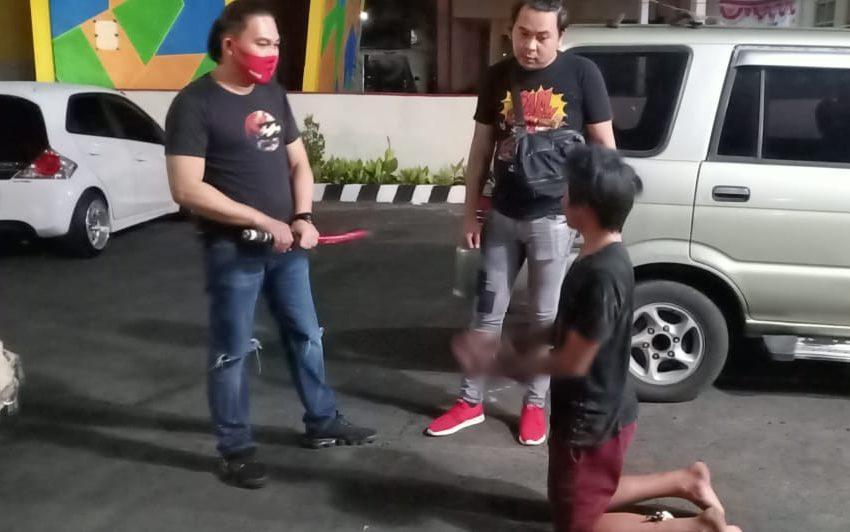 Personel Polisi Dikejar Pakai Samurai, ABG Tomohon Diamankan Watung Cs