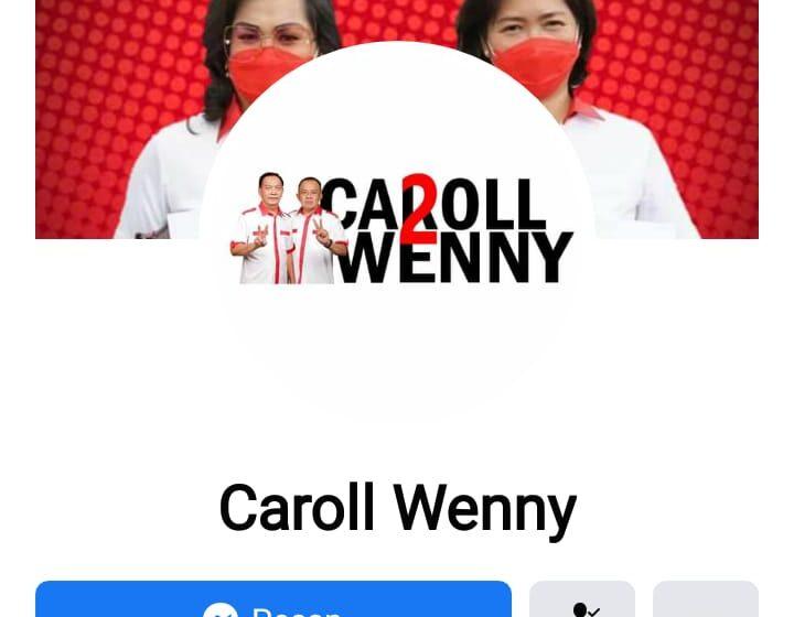 "Tim Advokasi : Akun FB ""Carol – Wenny"" yang Dilaporkan Wartawan Adalah Akun Palsu"