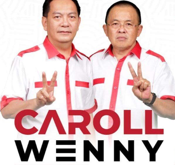 Polling Media Kabar Daerah, Pasangan Caroll Wenny Unggul 69.27 Persen