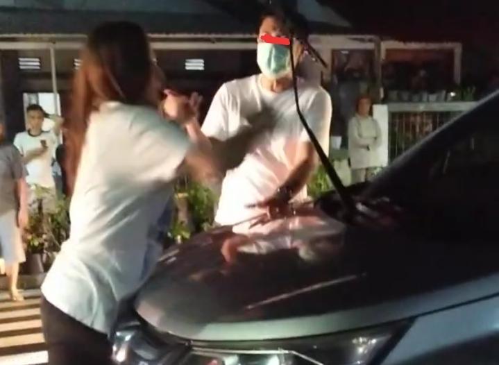Viral di Medsos, Mantan Cabup Minsel Diseret Mobil BRV, Ternyata Mobil Suaminya Sendiri