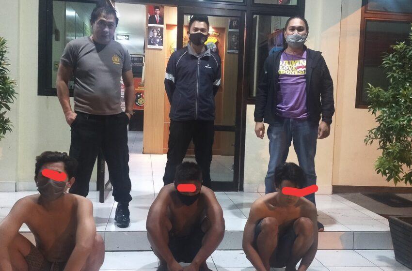 Tawuran Rungku VS Eris, Tim Totosik Amankan Tiga Remaja