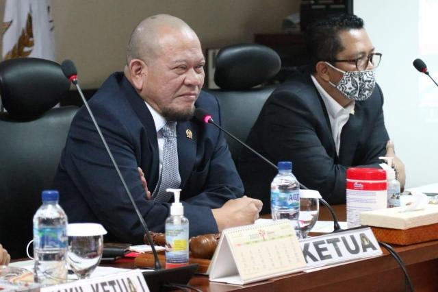 BAN Liow Dampingi Ketua DPD RI Sosialisasi Program Kartu Prakerja Lanjut di 2021