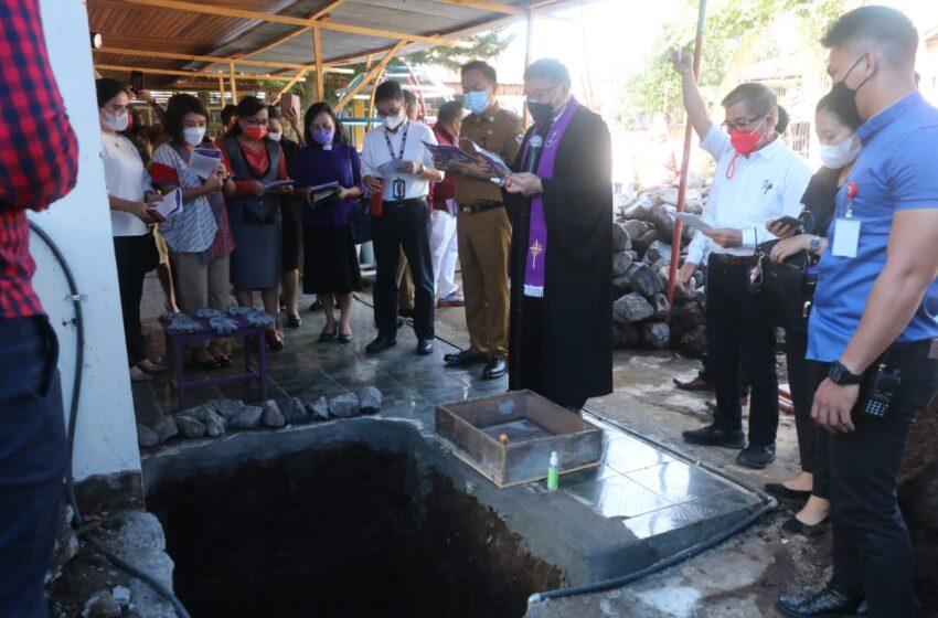 Caroll – Wenny Suport Pembangunan TK GMIM Dorkas Kamasi