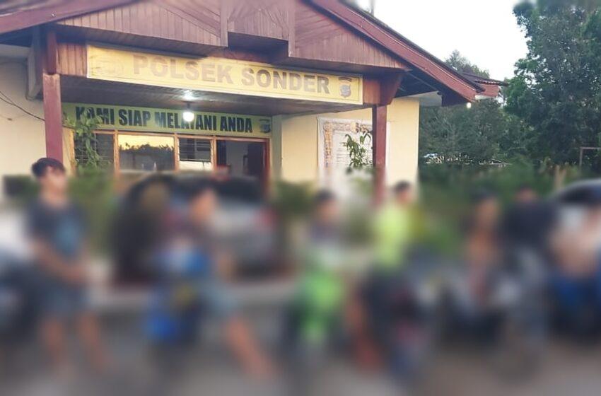 Lagi, Enam Pemuda – Remaja Sonder Diamankan Saat Balap Liar