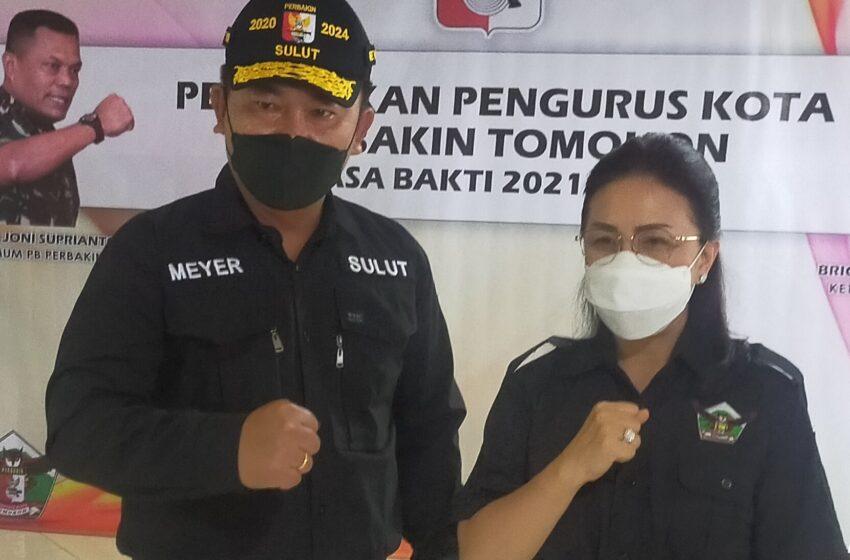 Pimpin Perbakin Tomohon, MJLW Yakin Bisa Hasilkan Atlit Nasional dan Internasional