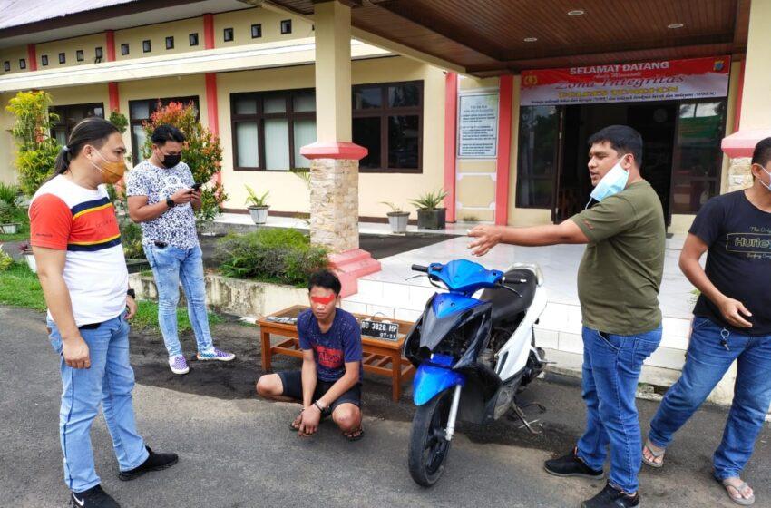 Pelarian Jul Pelaku Pencurian di Kakaskasen Berakhir Ditangan Totosik