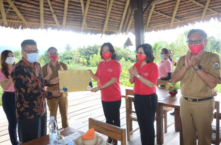 BRI Serahkan Bantuan CSR 100 Juta Untuk Kelompok Usaha Wanita