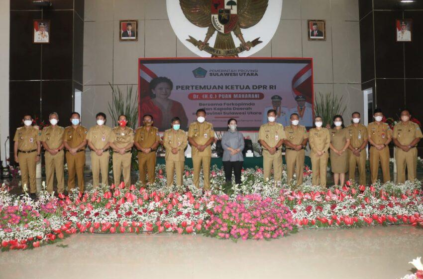 Walikota, Wawali dan Ketua Dewan Ikuti Pertemuan Bersama Puan Maharani