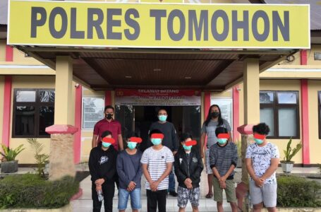 Resmob Bekuk Enam Pemuda Lansot Pengeroyok Marco