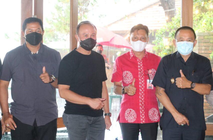 Wawali Jamu Irwasum Mabes Polri dan Kapolda Sulut