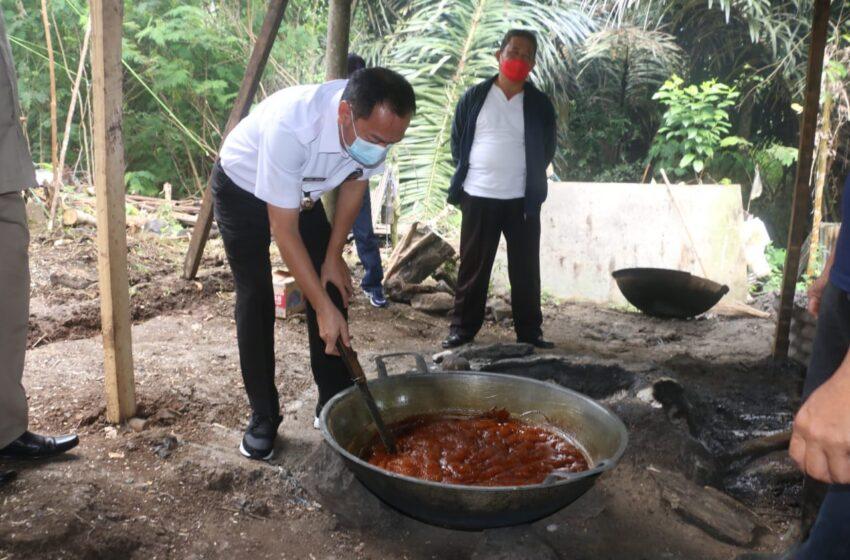 Produksi Gula Semut Bakal Ditingkatkan Terus Pemerintah Kota
