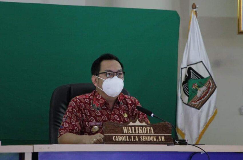 Walikota Paparkan RAP SDM Kota Tomohon 2022 – 2024 ke BPSDM Kemendagri