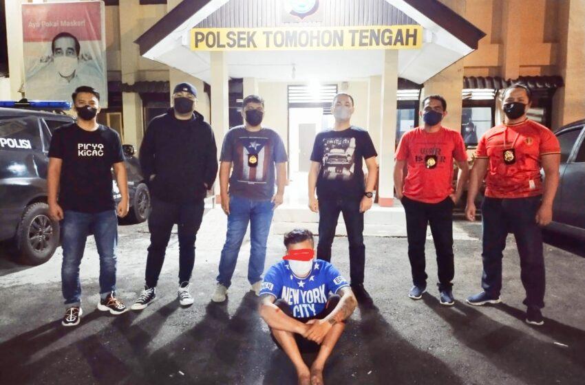 Aniaya Sesama Tukang Ojek, Pria Talete Diamankan Tim Totosik