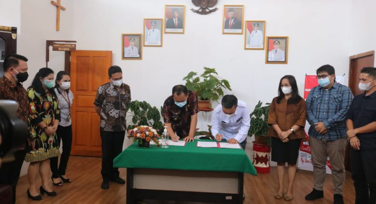 KPU – Pemkot Sepakati Bentuk Kelurahan Peduli Pemilu