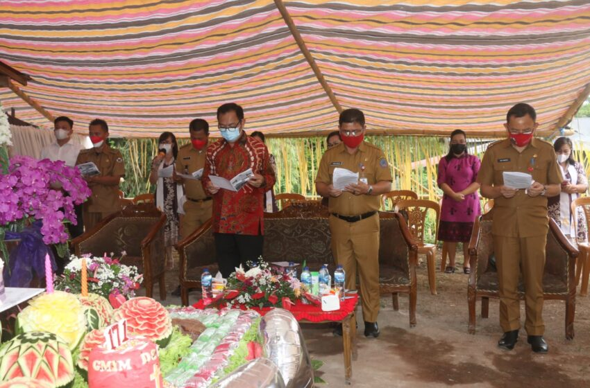 Ibadah Syukur HUT ke 171 Jemaat GMIM Damai Sejahtera Lahendong